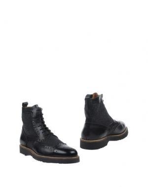 Полусапоги и высокие ботинки BARBATI. Цвет: черный