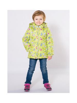 Куртка SAIMA. Цвет: зеленый