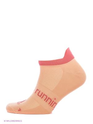 Носки R L N-show T1p Adidas. Цвет: светло-оранжевый