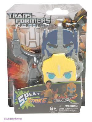 Игровой набор на меткость Трансформеры Hasbro. Цвет: серый, желтый, синий