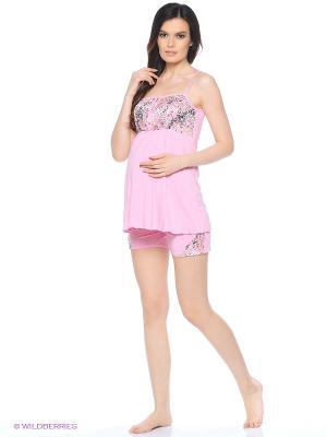 Комплект для беременных и кормящих FEST. Цвет: розовый