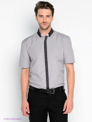 Рубашка Imperator. Цвет: серый