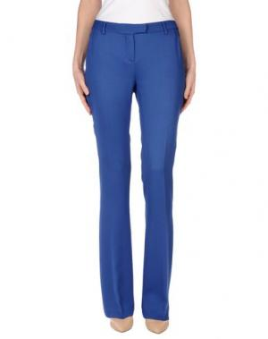Повседневные брюки FABRIZIO LENZI. Цвет: синий