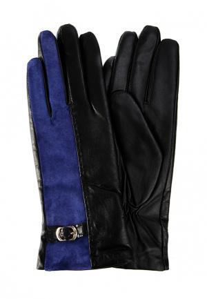 Перчатки Marco Bonne`. Цвет: синий