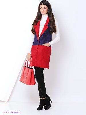 Жилет Fashion.Love.Story.. Цвет: красный