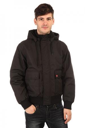 Куртка зимняя  Keane 6.6 Jacket Black Dickies. Цвет: синий