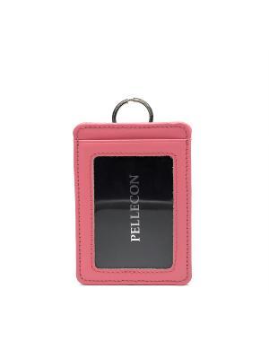Обложка Pellecon. Цвет: розовый