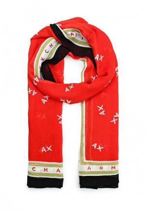 Палантин Armani Exchange. Цвет: разноцветный