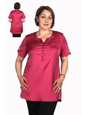 Блузка Alona. Цвет: бордовый
