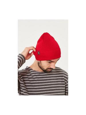 Шапка Check Ya Head. Цвет: красный