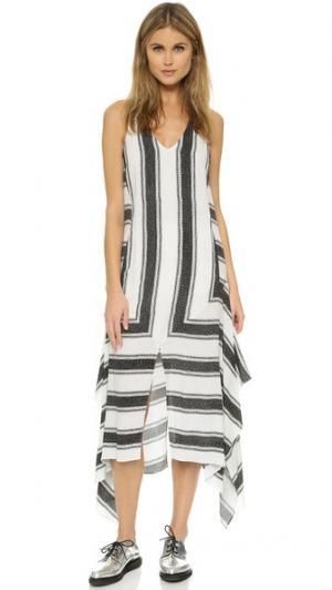 Платье Aspens Shiver sass & bide. Цвет: черный/белый