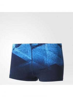 Плавки Inf+ 3Str Pr Bx Adidas. Цвет: синий