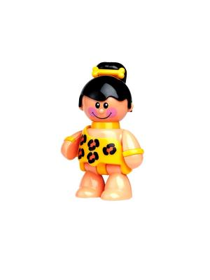 Фигурка Пещерная девочка Tolo. Цвет: желтый