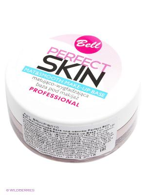 Матирующая база под макияж Perfect Skin, тон 10 Bell. Цвет: светло-бежевый