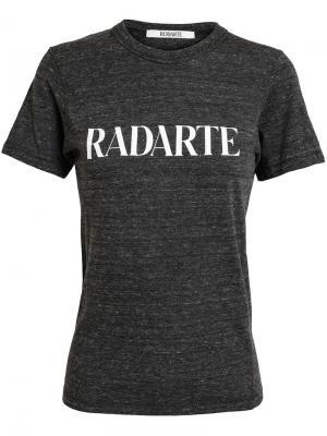 Футболка 'Radarte' Rodarte. Цвет: серый