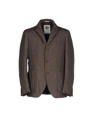 Куртка ANGELO NARDELLI. Цвет: свинцово-серый