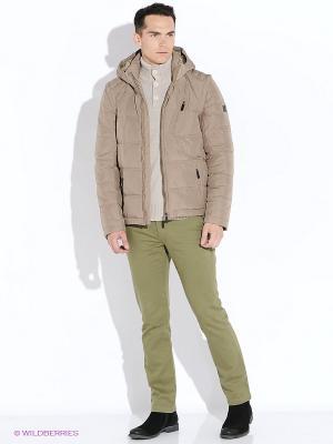 Куртка Finn Flare. Цвет: коричневый