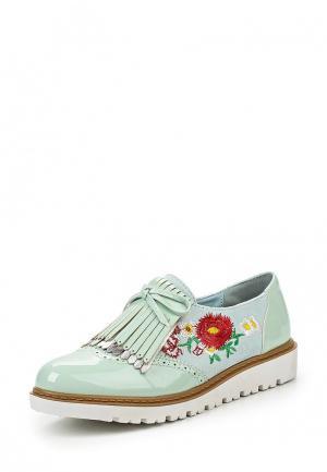 Ботинки Mellisa. Цвет: мятный