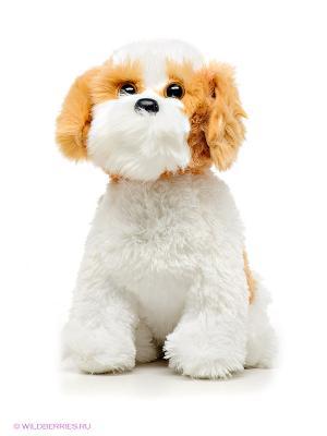Игрушка Собака BARLEY TY. Цвет: белый, светло-коричневый