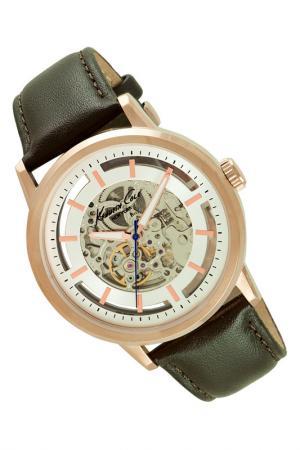 Часы Kenneth Cole New York. Цвет: коричневый
