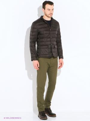 Куртка Mansion. Цвет: темно-коричневый