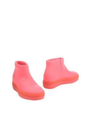 Полусапоги и высокие ботинки RUCO LINE. Цвет: коралловый