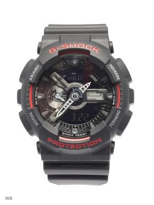 Часы G-Shock GA-110HR-1A CASIO. Цвет: черный