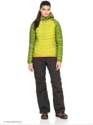 Куртка ZENON XT JACKET WOMEN Jack Wolfskin. Цвет: зеленый