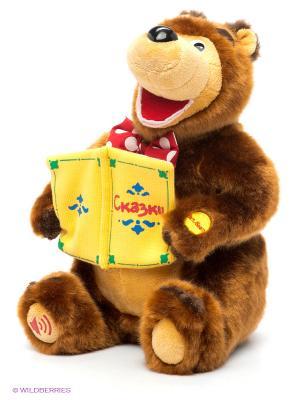 Мягкая игрушка Медведь, 30 см. Мульти-пульти. Цвет: коричневый
