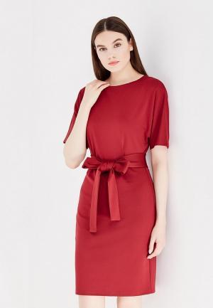 Платье 1001dress. Цвет: бордовый