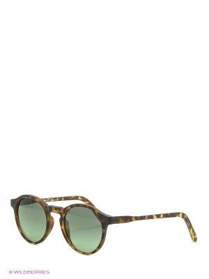 Солнцезащитные очки Franco Sordelli. Цвет: темно-коричневый