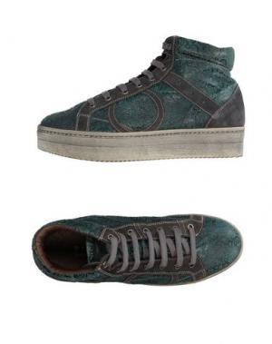 Высокие кеды и кроссовки PLAYHAT. Цвет: зеленый