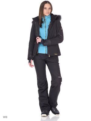 Куртка сноубордическая Volkl. Цвет: черный