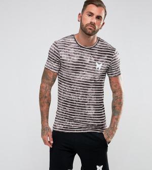 Good For Nothing Облегающая футболка в полоску эксклюзивно для ASOS. Цвет: светло-бежевый