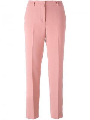 Прямые брюки Ermanno Scervino. Цвет: розовый и фиолетовый
