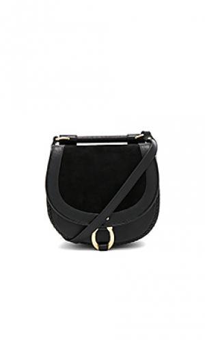 Круглая сумочка babylon Sancia. Цвет: черный