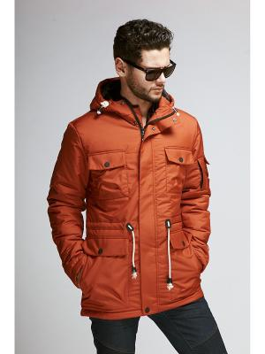 Куртка мужская Nikolom. Цвет: оранжевый