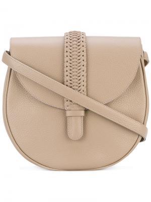 Большая сумка на плечо Gamine Grace Atelier De Luxe. Цвет: телесный