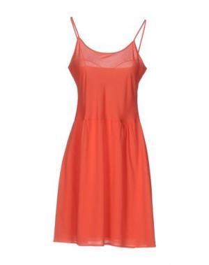 Короткое платье SITA MURT/. Цвет: коралловый