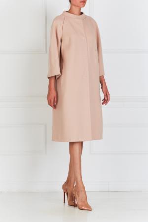 Пальто с декором на спине NATALIA GART. Цвет: розовый