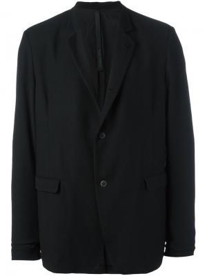 Пиджак с застежкой на две пуговицы Poème Bohémien. Цвет: чёрный
