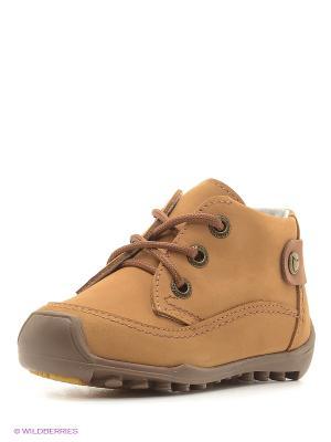 Ботинки Котофей. Цвет: светло-коричневый, бежевый, темно-коричневый