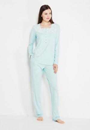 Пижама Relax Mode. Цвет: бирюзовый