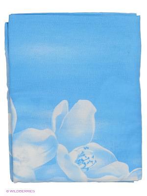 Подушка для беременных Здоровье и комфорт. Цвет: голубой, белый