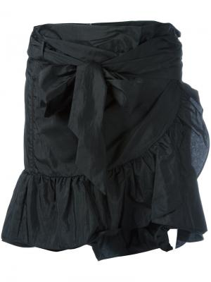 Юбка мини Aurora Isabel Marant. Цвет: чёрный