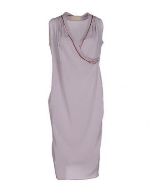 Платье до колена CARLO CONTRADA. Цвет: розовато-лиловый