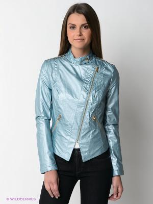 Куртка TOM FARR. Цвет: голубой