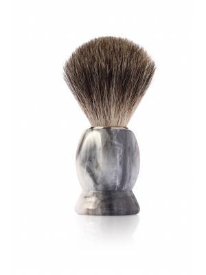 Помазок для бритья MONDIAL. Цвет: серый
