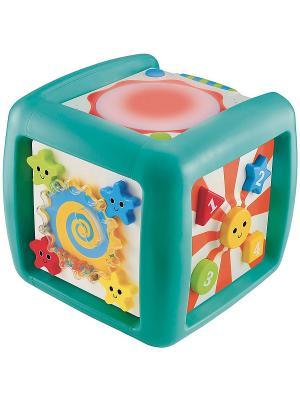 Интерактивный развивающий куб ELC. Цвет: бирюзовый