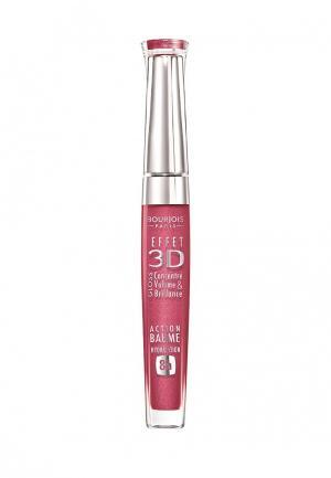 Блеск для губ Bourjois. Цвет: розовый